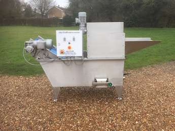 potato sample washer