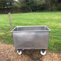stainless steel euro bins